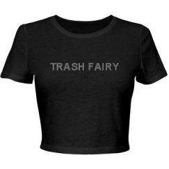 Trash Fairy Sparkle Crop