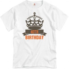 Crown for your birthday