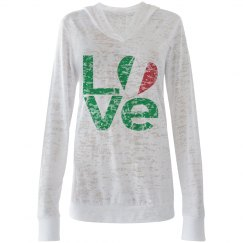 Distressed Italian LOVE