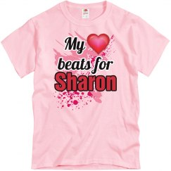 My heart beats for Sharon