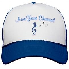Channel Poly Foam Blue Snapback