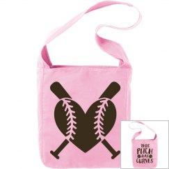 Baseball Sport Canvas Bag