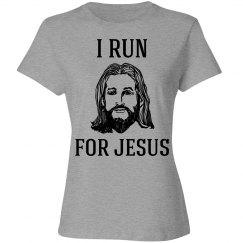 I run for Jesus