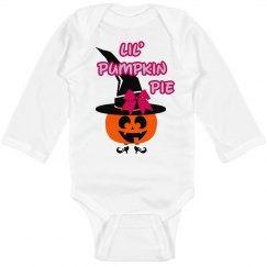 Girl Lil' Pumpkin Pie