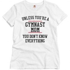 Gymnast mom knows all