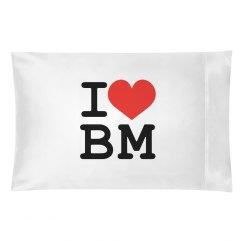 I Love (pillow)