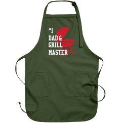 # 1 Dad Grill Apron