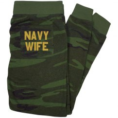 Navy Wife PJ Pants