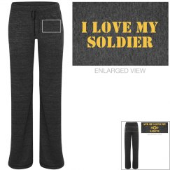 I Love My Soldier PJs