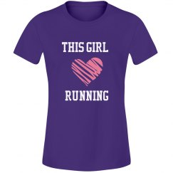 Girl loves running