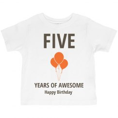 Five years of awesome