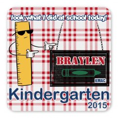 Personalized kids magnet