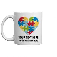 Custom Autism Awareness Gift