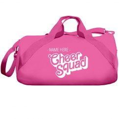 Personalized Cheer Squad Sports Bag