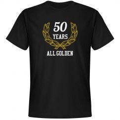 50 years golden anniversary
