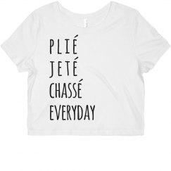 Plié, Jeté, Ballet Everyday