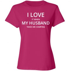 Love husband love camping