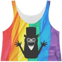Rainbow Print Babadook Gay Pride