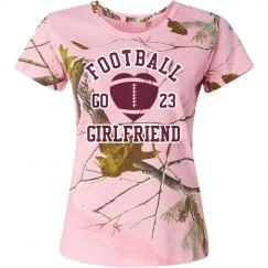 Camo Football Girlfriend