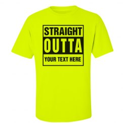 Custom Neon Straight Outta