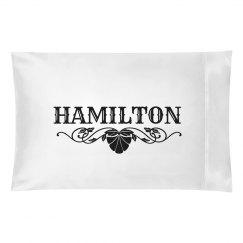 HAMILTON.Pillow case