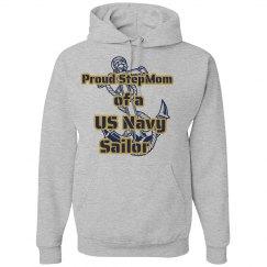 Navy Stepmom Hoodie