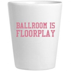 Ballroom Is Floorplay Pink Shot