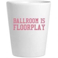 Ballroom Is Floorplay Pink Shot
