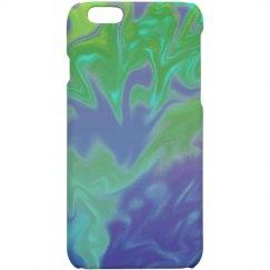 Blue Turquoise Green Splatter