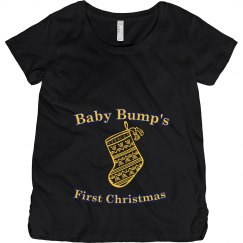 Christmas Maternity Top