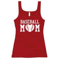 Rhinestone Baseball Mom Tank