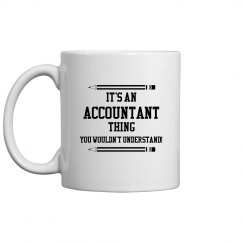 It's an accountant thing