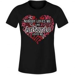 Love me like Antonio