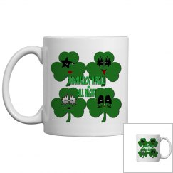 Shamrock & Roll All Night Mug