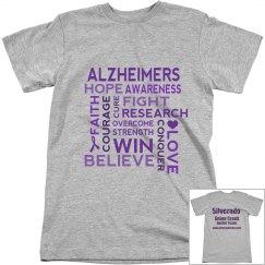 Alzheimer's Walk Men's T