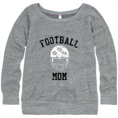 FOOTBALL Mom Vintage Game sweatshirt