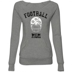 FOOTBALL Mom Vintage Game sweatshirt