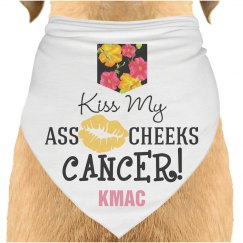 KMAC cancer dog scarf
