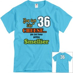 smelly birthday age 36