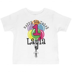 1 year old! Layla