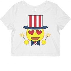 Emoji Tee July 4th