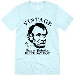 Birthday Boy 1974