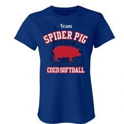 Spider Pig Softball Team