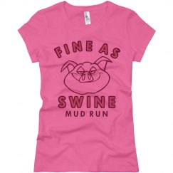 Fine Swine Mud Run Tee