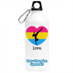 Love Gymnastics Bottle