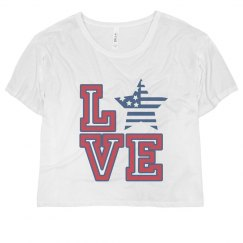 Red White And Blue Love