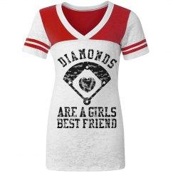 Baseball Diamonds Girl