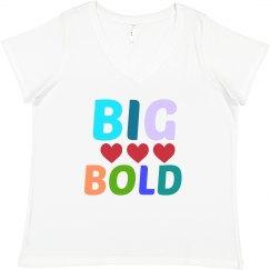 Big Bold Love Tee Plus Size
