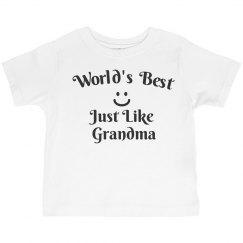 World's best like grandma