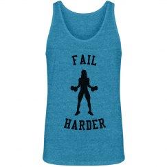 Fail Harder Workout Tank